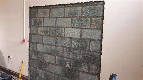 Blocking Off Doorways   How to Block Up a Doorway