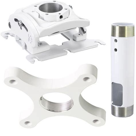 Projector Ceiling Mount Kit by Epson Chf1000 Projector Ceiling Mount Kit White Chf1000 B H