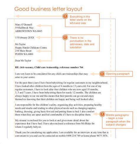 Business Letter Diagram Formal Business Letter Format 29 Free