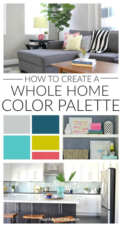 color palette for home how to create a whole home color palette
