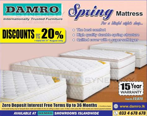 Average Cost Of Mattress by 20 For Damro Mattress Today 171 Synergyy