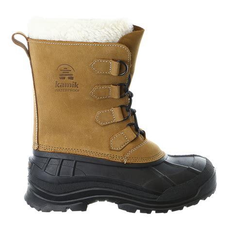 boat shoes for winter kamik alborg winter snow boot shoe mens ebay