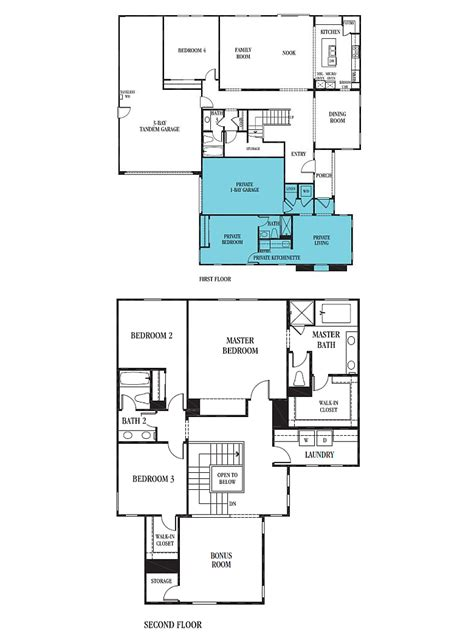 multi gen homes multi generational home floor plans thefloors co