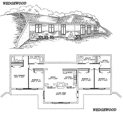 Earth Sheltered Home Plans by 25 Best Ideas About Underground House Plans On