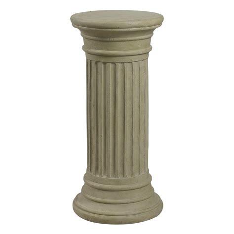 Pedestal Column kenroy home fluted column garden pedestal atg stores