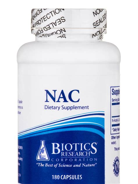 Biotics Research Bio Detox For Sale by Nac 180 Capsules