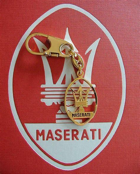 maserati gold logo marcello s maserati memorabilia