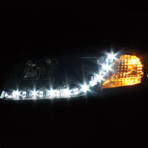 led außenleuchte hid xenon 2002 2005 audi a4 s4 led drl projector