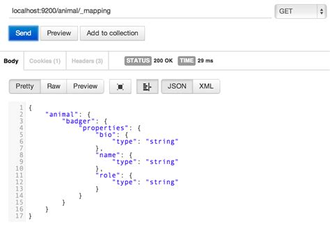 get mapping elasticsearch get mapping my