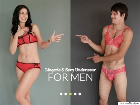 lingerie for men is now a thing apparently
