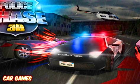 design games car police chase 3d car game racing cartoon for kids youtube