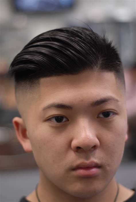 asian comb over photos for headline barber shop yelp