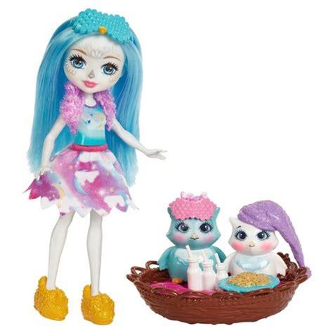 Enchantimals Sleepover Night Owl Doll Set : Target