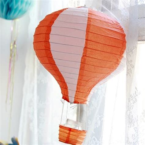 How To Make Paper Air Balloon Lantern - 12 inch air balloon paper lantern birthday