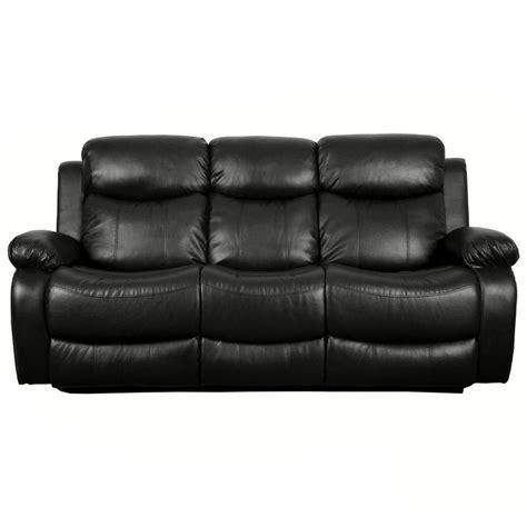 heated reclining sofa de nero heated reclining and 3 seater sofa