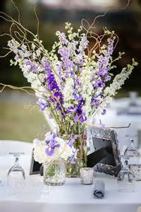 lavender centerpieces for weddings purple lavender and white centerpiece jars of white
