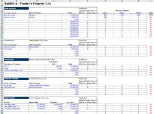 Probate Spreadsheet by Probate Spreadsheet Greenpointer