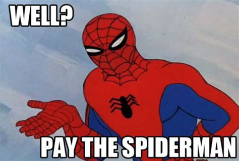 60s Spiderman Meme - image 110265 60 s spider man know your meme
