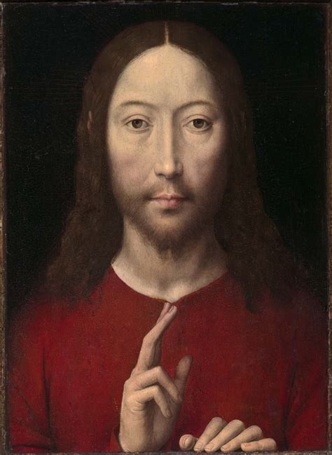 image of christ file memling christ giving blessing jpg wikimedia commons