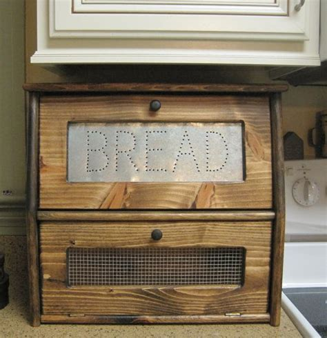 wood bread box plans woodworking projects plans