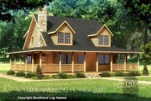 gallery for gt cabin plans wrap around porch