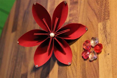fiori natalizi di carta fiore di carta