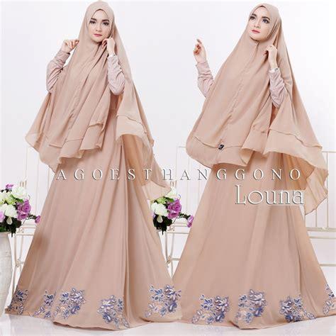 Baju Gamis Indah Syar I 3 model baju gamis syar i terbaru louna agoesthanggono