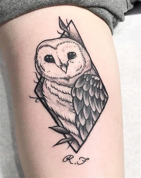 barn owl tattoo designs owl tattoos insider