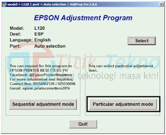work   reset epson  gampang  jelas