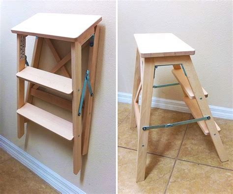 ikea folding step stool alluring kitchen best 25 folding ladder ideas on pinterest