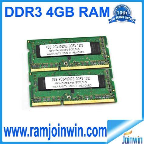 Ram Sodimm Vgen Ddr3 4gb 10600 ddr3 sodimm 4gb 1333mhz pc3 10600 ram memory