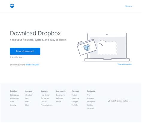 dropbox installer ux timeline dropbox back to the past