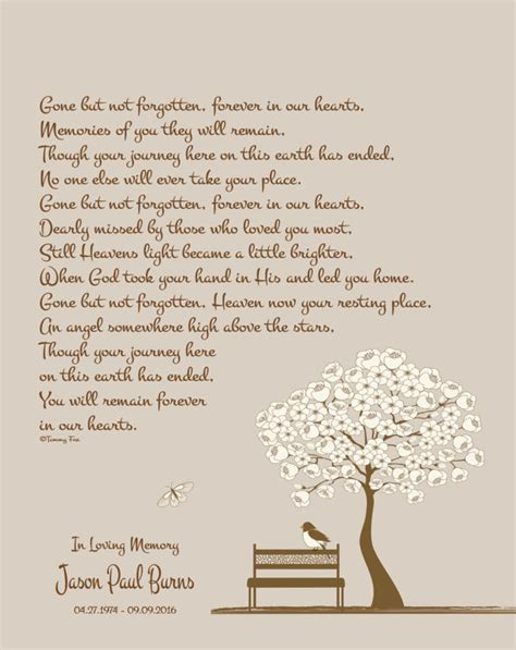 Losing A Family Member Essay by Memorial Remembrance Print Sympathy