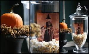 Filling apothecary jars with sweets treats or creeps is a fun way to