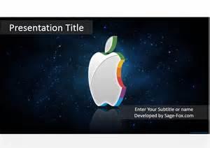 apple powerpoint template striped apple powerpoint template 4073 free striped