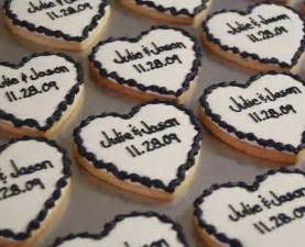 Black And White Cookie Wedding Favor by Wedding Ideas Mr And Mrs Receptions