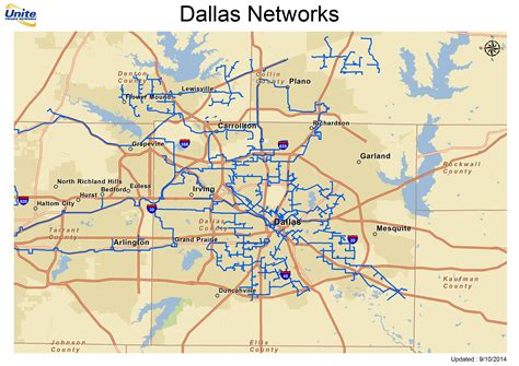 where is dallas texas on the map metro fiber maps upn