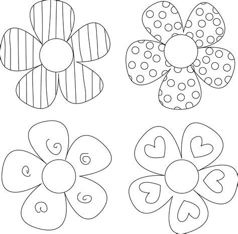 diy flower tutorials    flower template