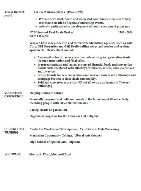 patient advocate resume sle 28 images cover letter