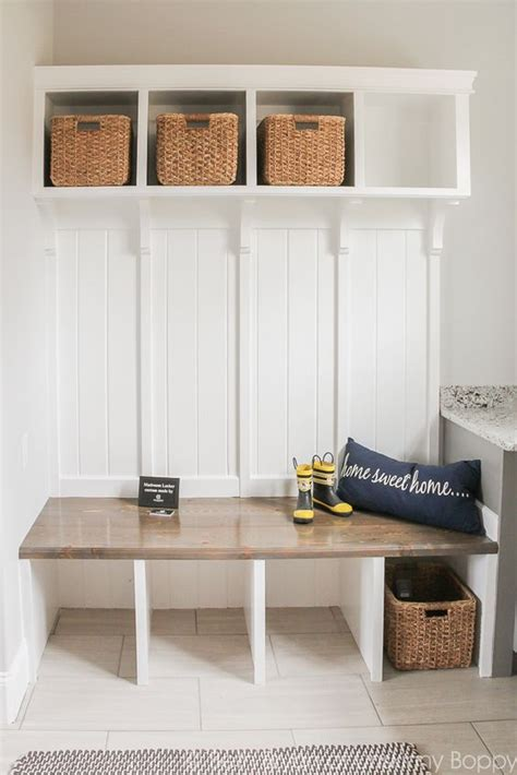 small mudroom decor tips   ideas  implement