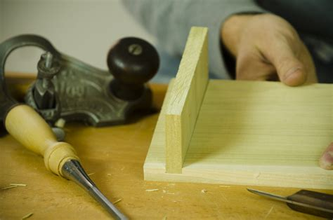 woodworking joint tools how to cut a dado shelf joint with tools wood and shop