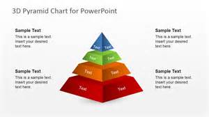 Powerpoint Pyramid Template by Free 3d Segmented Pyramid Slide For Powerpoint Slidemodel