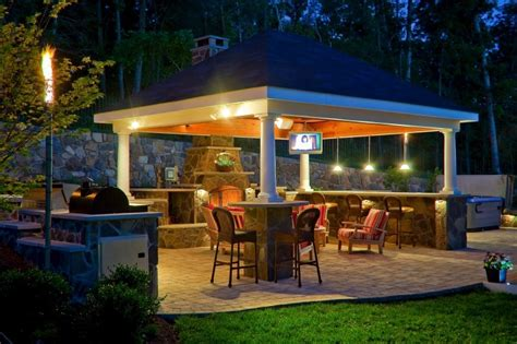 gazebo outdoor kitchen outdoor kitchen gazebo 20 combinations of indoor and