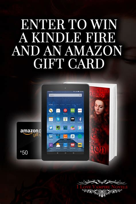 Gift Card For Kindle Books - contest win a kindle fire h or an amazon gift card your contests canada