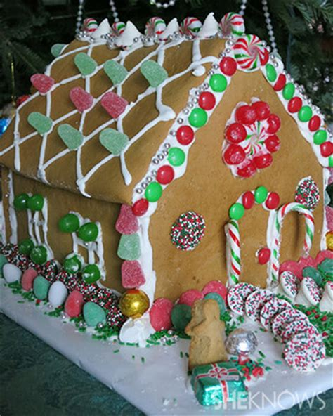 homemade gingerbread house sheknows entertainment recipes parenting love advice
