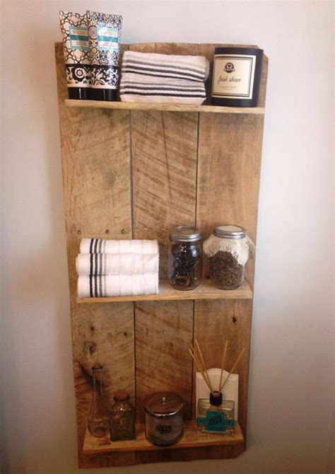 15 diy bathroom shelving ideas that can boost storage 17 best images about pallet board ideas on pinterest