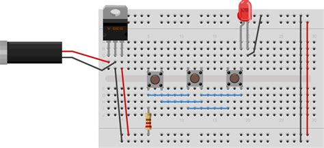 breadboard circuit in parallel physical computing at itp labs switches