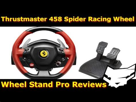 Xbox One Thrustmaster Vg 458 Spider Racing Wheel xbox one thrustmaster vg 458 spider racing wheel unboxing