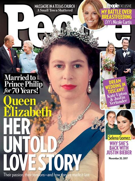 Queen Elizabeth and Prince Philip's 70th Anniversary Cover