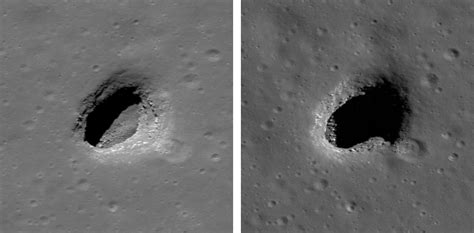moon and pit exciting new images lunar reconnaissance orbiter